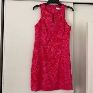NWOT Southern Tide pink and red summer dress